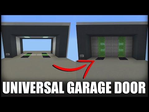 How to Make a Garage Door in Minecraft (Works on EVERY Platform)