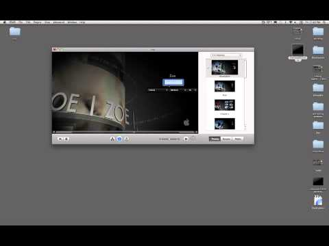 How to Burn iMovie projects to Disc (DVD)