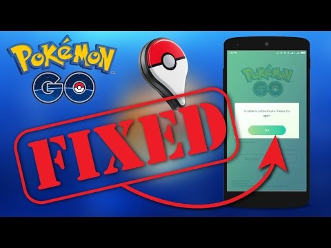 UNABLE TO AUTHENTICATE POKEMON GO GOOGLE ACCOUNT IN ANDROID PHONE