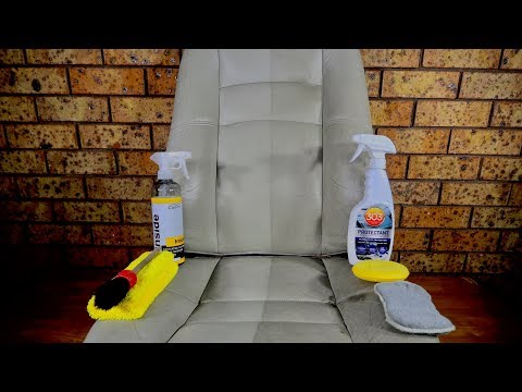 How To Clean & Protect Car Leather & Vinyl Seats Like A Pro