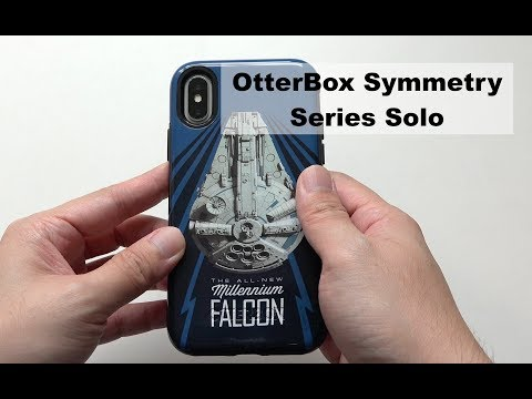 OtterBox Symmetry Series Solo: A Star Wars Story Case for iPhone X