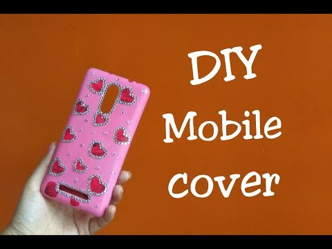 DIY How to make Mobile Cover  | Phone case