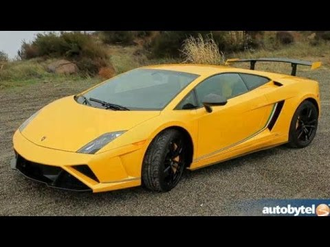 2013 Lamborghini Gallardo Squadra Corse Test Drive Video Review - 570 HP Last Edition