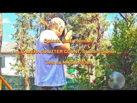Quanti Scatti Ha La Mia Reflex? - CAMERA SHUTTER COUNT, Shutter Counter Ed Altri
