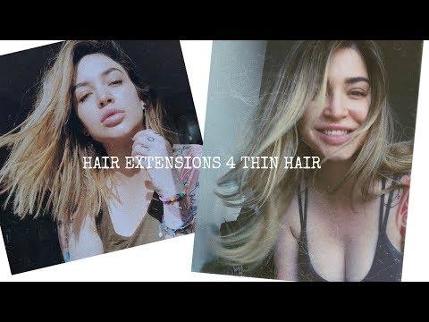 Best Clip In Hair Extensions For Thin Hair 🌻 + DEMO STILLGLAMORUS