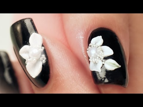 3D Acrylic Petals Nail Art - Step by Step Tutorial