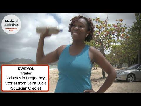 Diabetes in Pregnancy (Saint Lucian Creole) – Trailer
