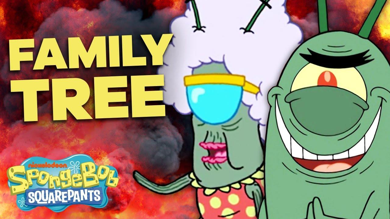 The Plankton Family Tree! 👁🌳 SpongeBob