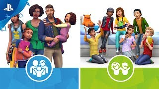 The Sims 4 - Parenthood and The Sims 4 Kids Room Stuff Launch Trailer | PS4