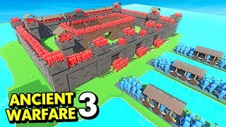 NEW RAM UNIT vs ANCIENT WARFARE 3 CASTLE! (Ancient Warfare 3 Funny Gameplay)