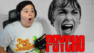 PSYCHO (1960) First Time Movie Reaction! | Talkative Commentary!