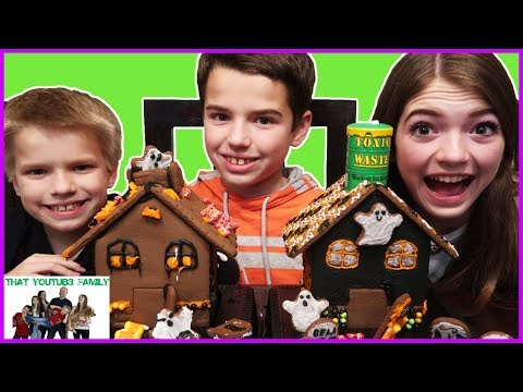 CHOCOLATE HALLOWEEN HOUSES/ That YouTub3 Family