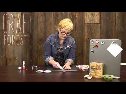 Bottlecap Crafts: Magnets & Pins