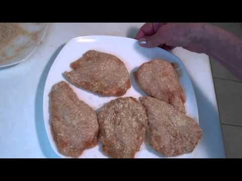 Oven Crisped Chicken