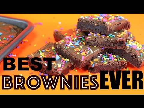 BEST Brownie Recipe EVER! Chocolate Nutella Brownies that will blow your mind | Elise Strachan