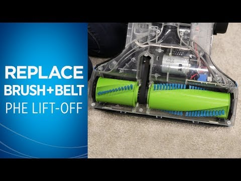 How to replace the belt and brushroll on your Pet Hair Eraser® Lift-Off®