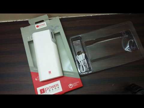 Rs. 800 iBall 10000mAh power bank review - Model Number - PB-10017