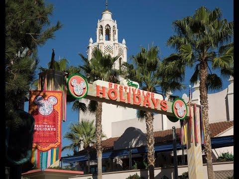 Un Vistazo a Disney Festival of Holidays en  Disney California Adventure