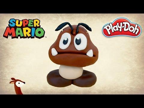 Super Mario Play-Doh: How to Make a Goomba