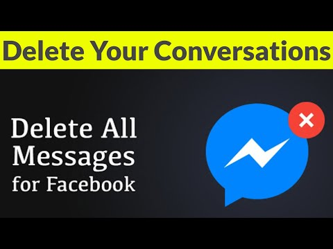 How To Delete All Conversation(Messages) On Facebook Messenger Permanently-Remove Chat History-2018