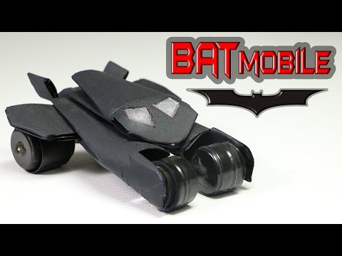 How To Make A Batmobile Toy  - (With Instructions )