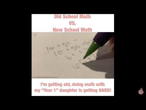 Old School Math vs New School Math (The Split Strategy)