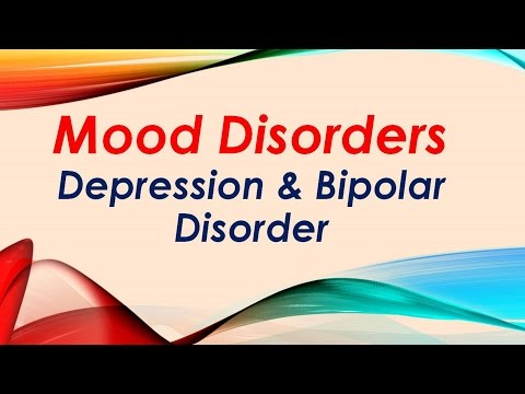 Psychiatry Lecture: Mood Disorders: Depression & Bipolar Disorder