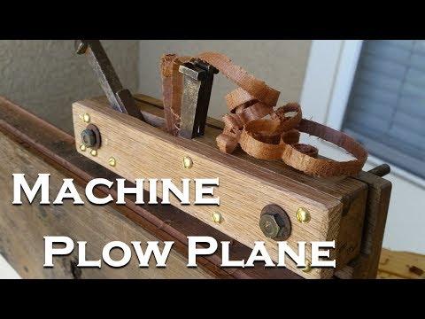 Restoring The Japanese Machine Plow Plane (Kikai Shakuri Kanna)
