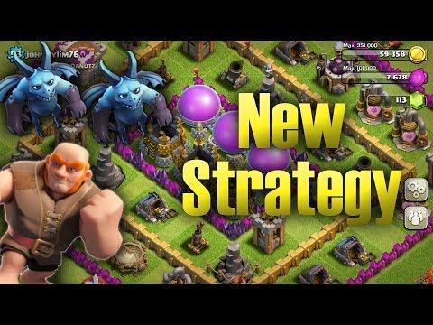 Awesome Giant and Minion Strategy | Clash Of Clans Tips!