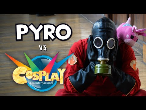 Pyro vs Día Internacional del Cosplay 2014