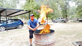 ANGRY DAD BURNS MY SNEAKER COLLECTION AS PUNISHMENT (GONE TERRIBLY WRONG)