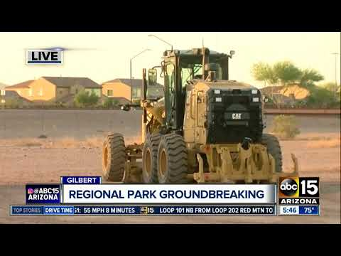 Gilbert breaking ground on new mega-park