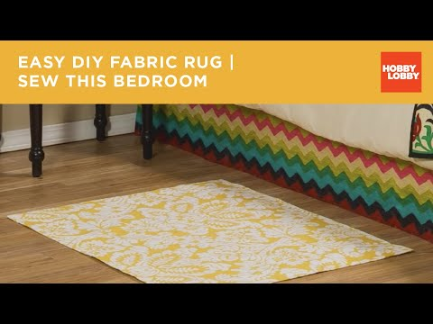 Sew This Bedroom: Rug