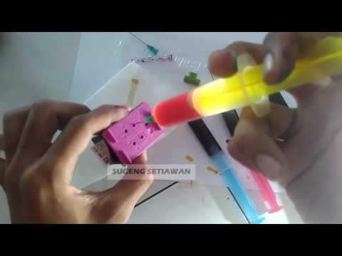 How To Refill Ink Cartridge HP 678 And Other Color Ink Series