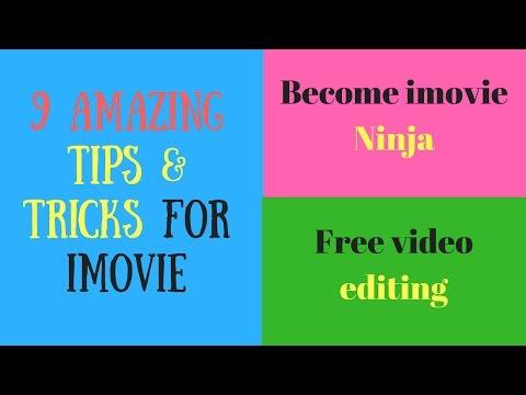 imovie for mac Tutorial | imovie tips and tricks