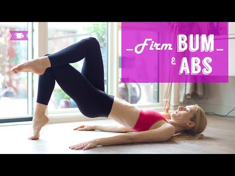 Firm Bum and Toned Abs Workout