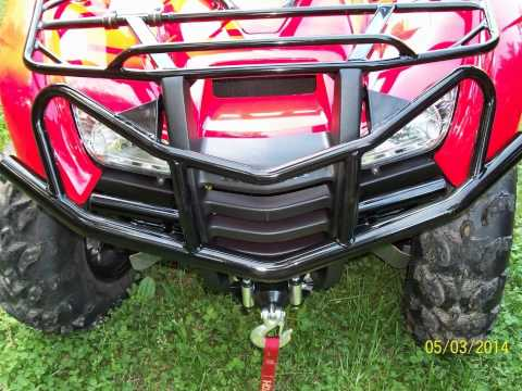 Honda Rancher 420AT: Brush Guard Install Slide Show
