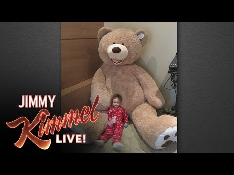 Jimmy Kimmel's Giant Stuffed Bear Revenge