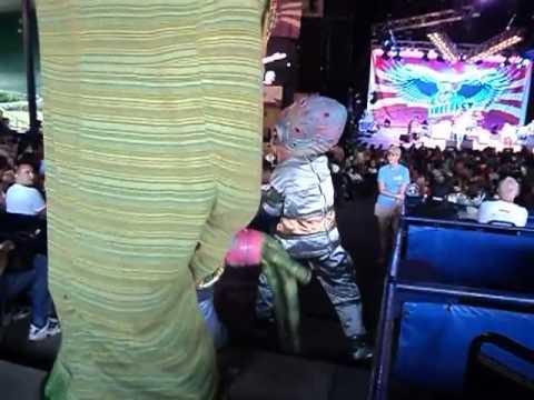 Alien Dance during Patti Smith Set