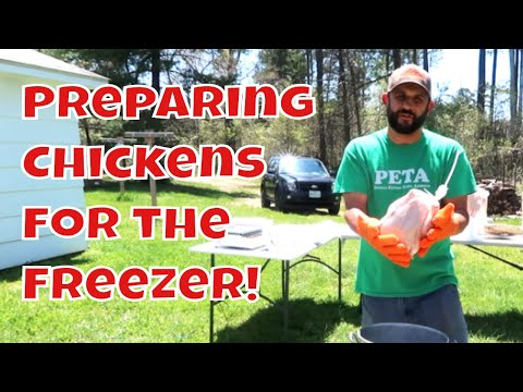How We Package and Label Pasture Raised Chickens!