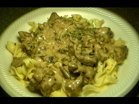 How To Make The Best Beef Stroganoff: Easy Beef Stroganoff Recipe