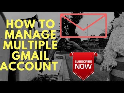 मल्टीपल जीमेल अकाउंट यूं करे आसानी से मैनेज || HOW TO MANAGE MULTIPLE GMAIL ACCOUNT EASILY