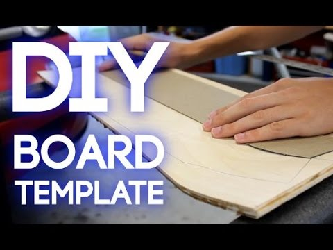 How To Make a Longboard Template | CashedOutBoards