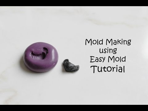 How to Make Molds using Easy Mold Silicone Putty