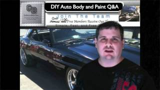 How Much Paint Does It Take To Paint A Car Diy Auto Body And Paint Qa