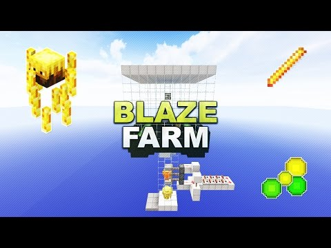 Minecraft - Blaze Farm // XP-Farm - Tutorial 1.8.9
