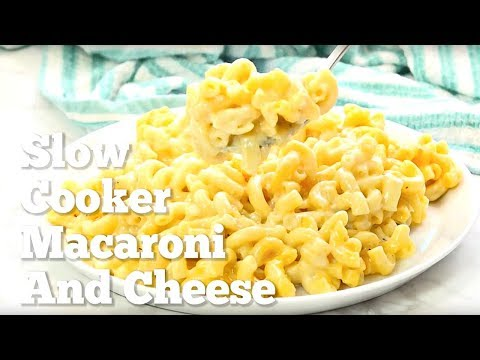 How to make: Slow Cooker Macaroni and Cheese