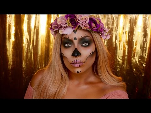 Day of the Dead Skull - IRISBEILIN
