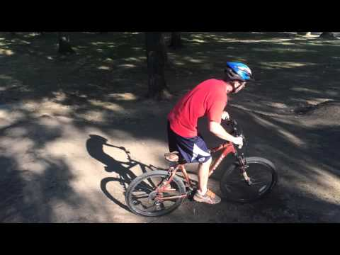 Bexley Park Pump Track - Austin's Test Run