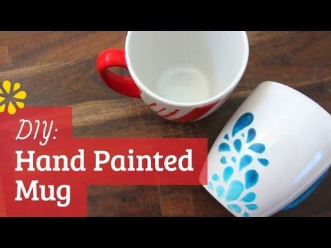 DIY Hand Painted Mug | Sea Lemon